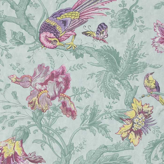 Little Greene behang Crowe Hall Lane punch
