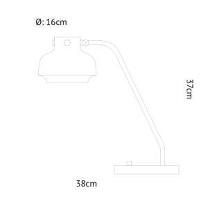 &tradition Copenhagen SC15 Bureaulamp