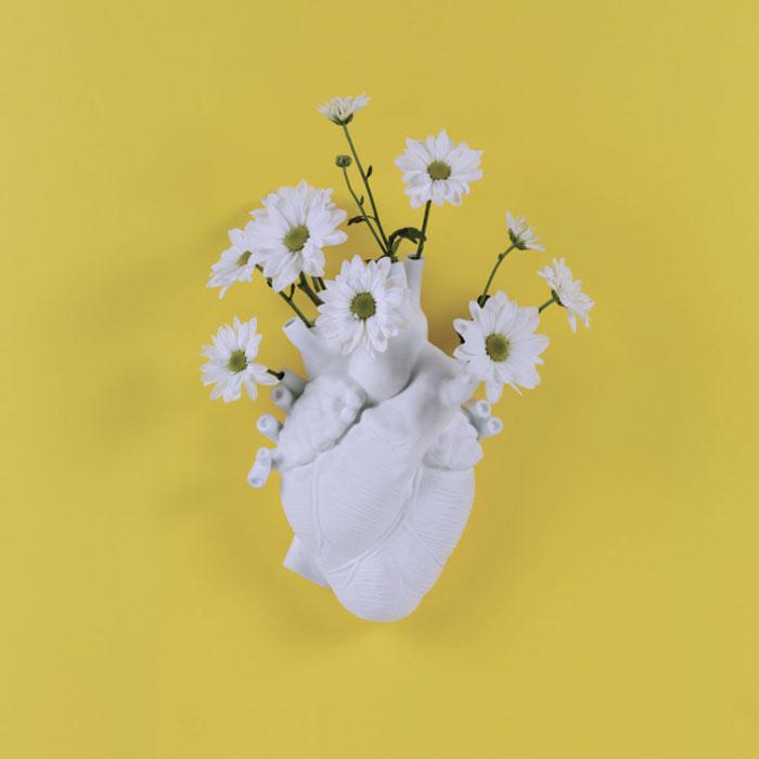 Seletti Love in Bloom Hart Vaas