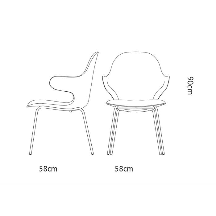 &tradition Catch JH15 Dining Chair