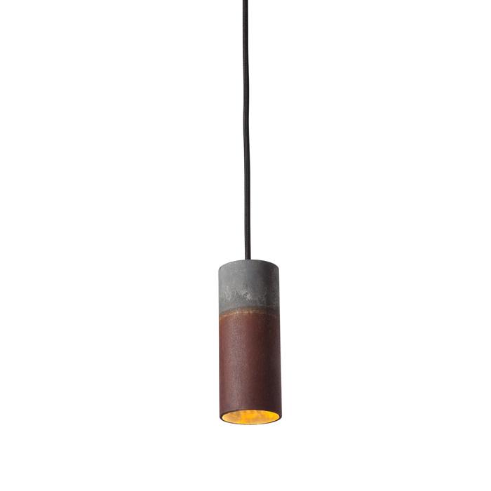 Karven Roest Zinc Vertical 15 hanglamp