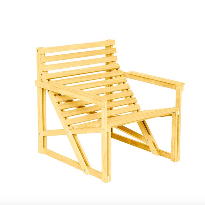 Weltevree Patio Easy Chair Loungestoel