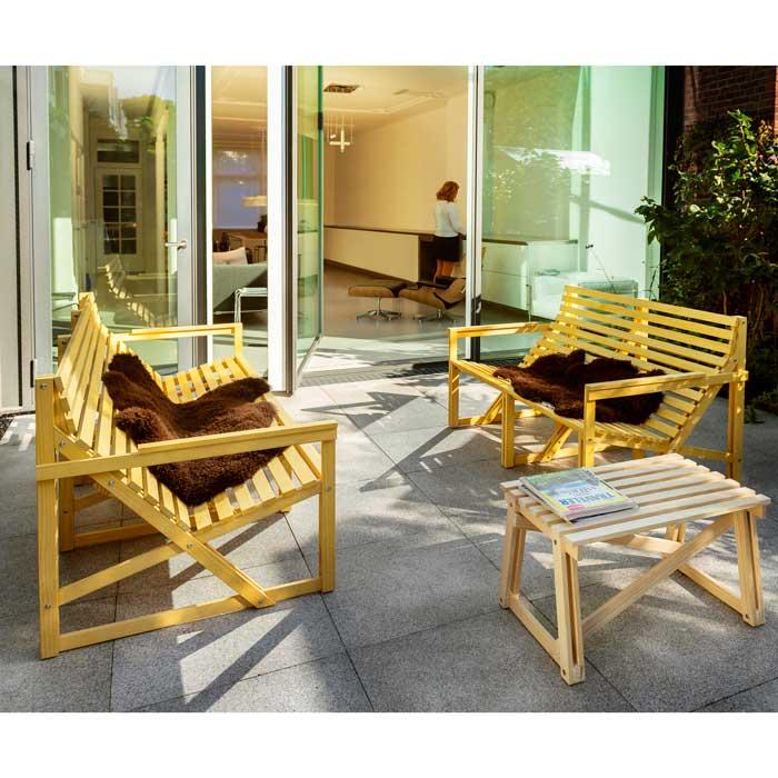 Weltevree Patiobench 2-3 seater Loungebank