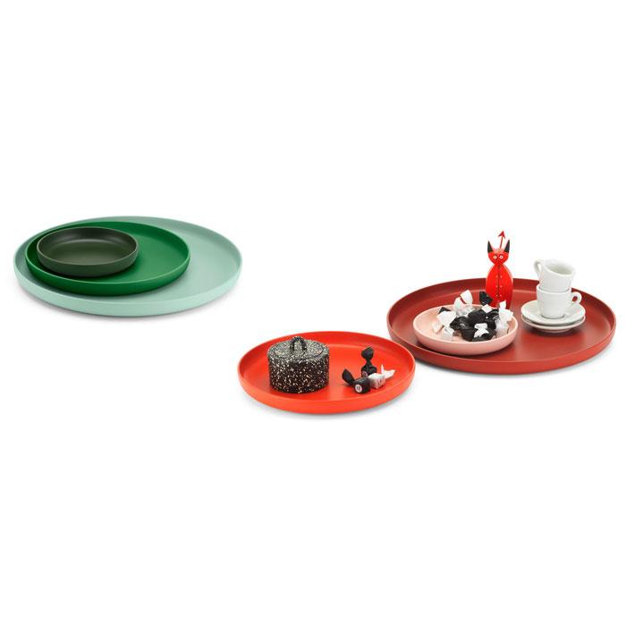 Vitra Rotary Trays Set van 3