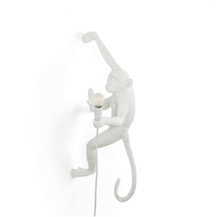 Seletti Monkey lamp hanging Right