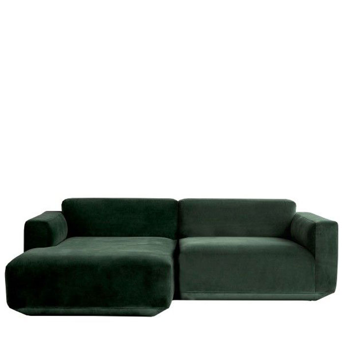 Design Bank Met Chaise Longue.Tradition Develius Ev Bank 2 Zits Chaise Longue Drent Van
