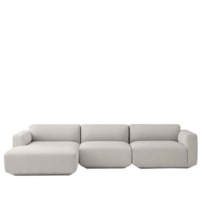 &tradition Develius EV bank 3-zits Chaise Longue
