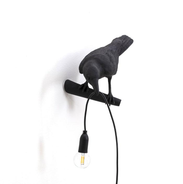Seletti Bird Lamp Looking