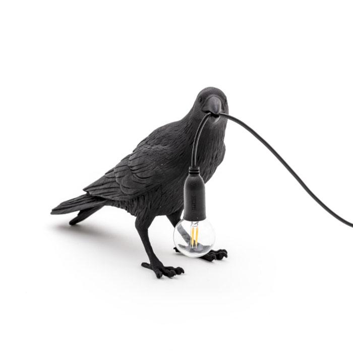 Seletti Bird Lamp Waiting
