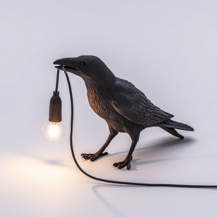 Seletti Bird Lamp Waiting