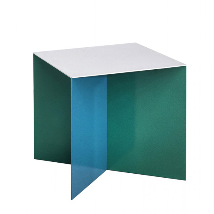 Valerie Objects Alu Square Table