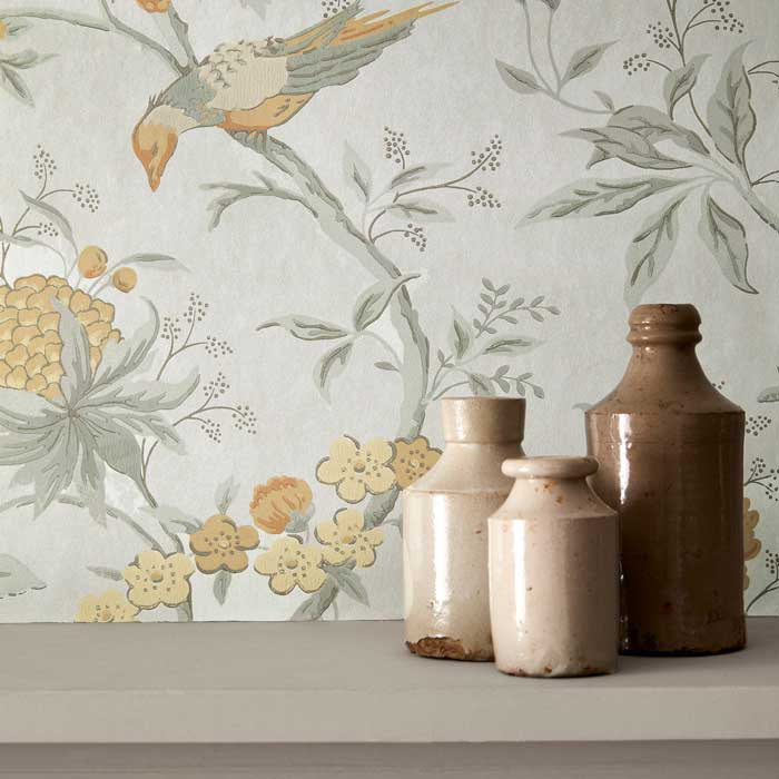 Little Greene Behang Brooke House