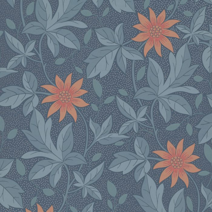 Little Greene Behang Monroe Night Flower