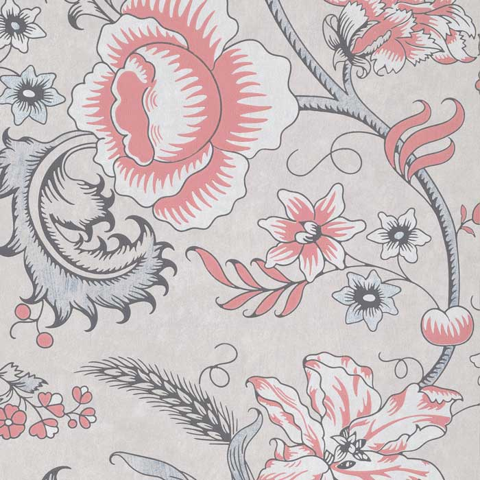 Little Greene Behang Woodblock Trail Union
