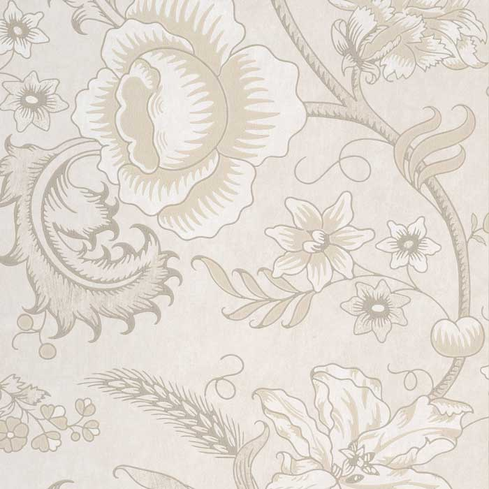 Little Greene Behang Woodblock Trail Wash