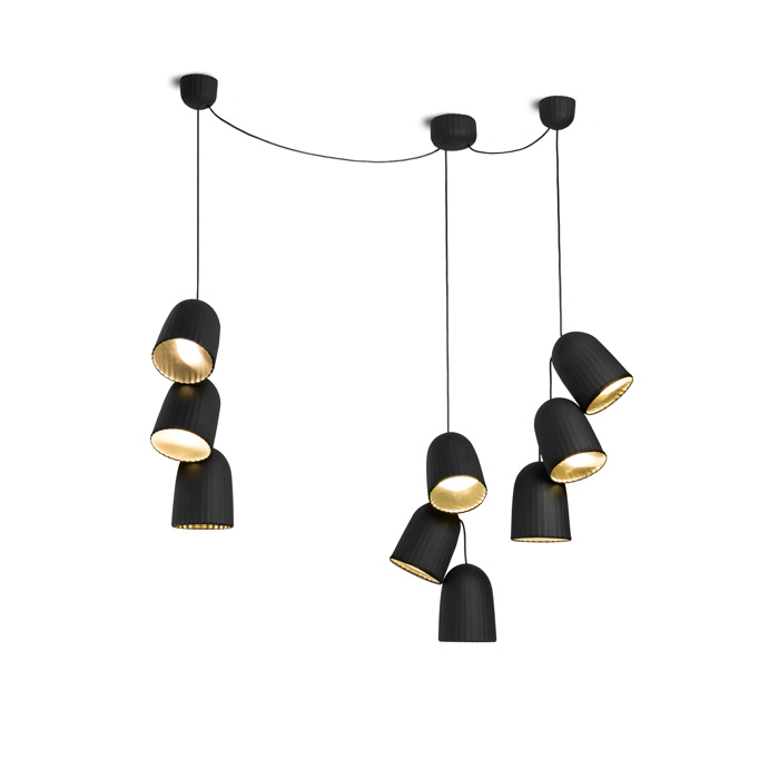 Petite Friture Chains Triple 3 Hanglamp