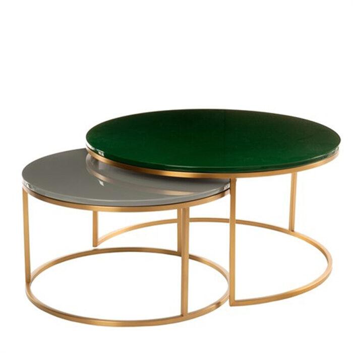 Pols Potten Coffee Table Enamel Set 2