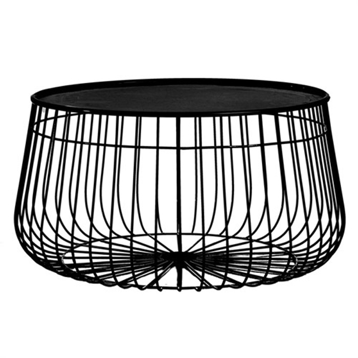 Pols Potten Wire Storage Coffee Table