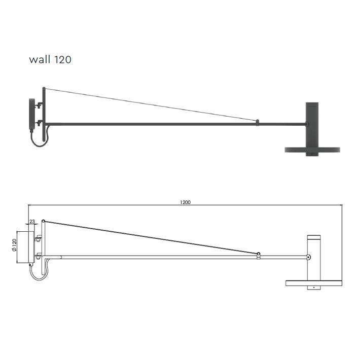 Tonone Beads Wandlamp 120