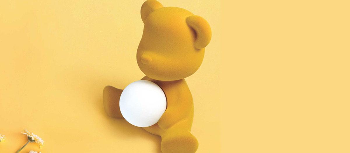 Qeeboo teddy girl golden