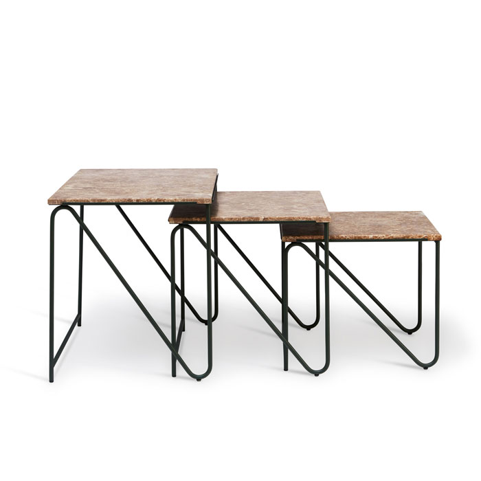 PWTBS Tryptich nesting table