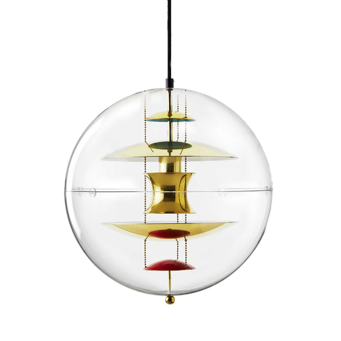 Verpan VP Globe brass finish Hanglamp