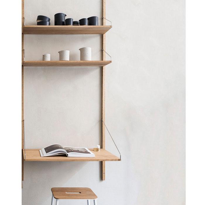 Frama Shelf Library H1852 bureau wandkast
