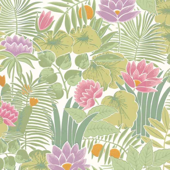 Little Greene Behang Reverie Jardin