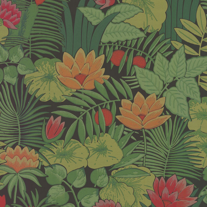 Little Greene Behang Reverie Jungle