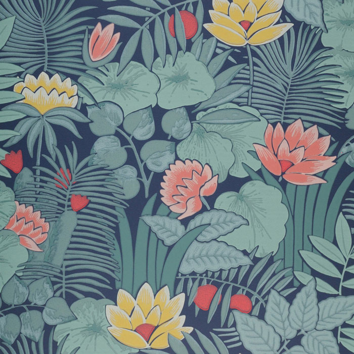 Little Greene Behang Reverie Nile