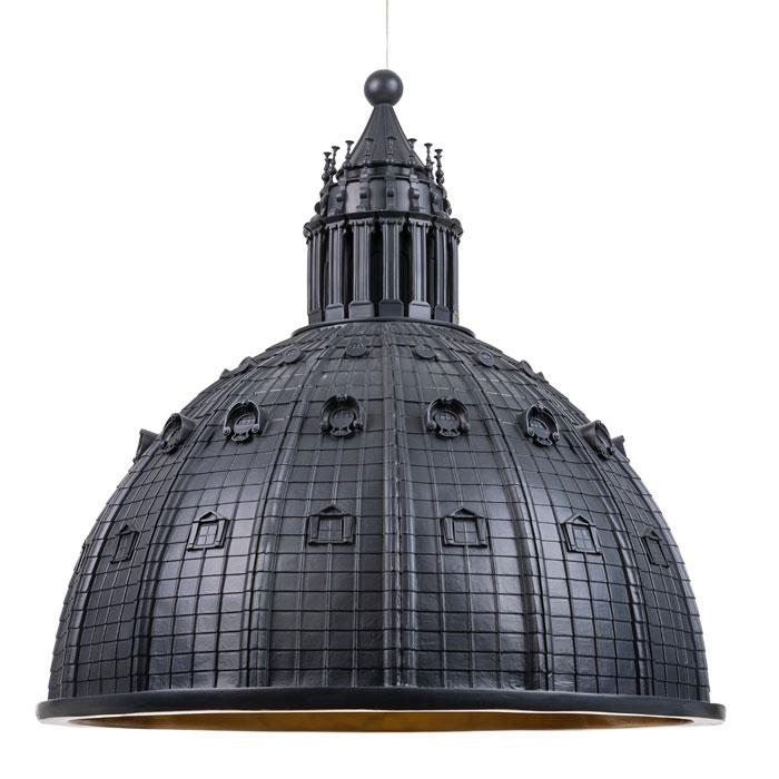 Seletti Cupolone hanglamp Gray