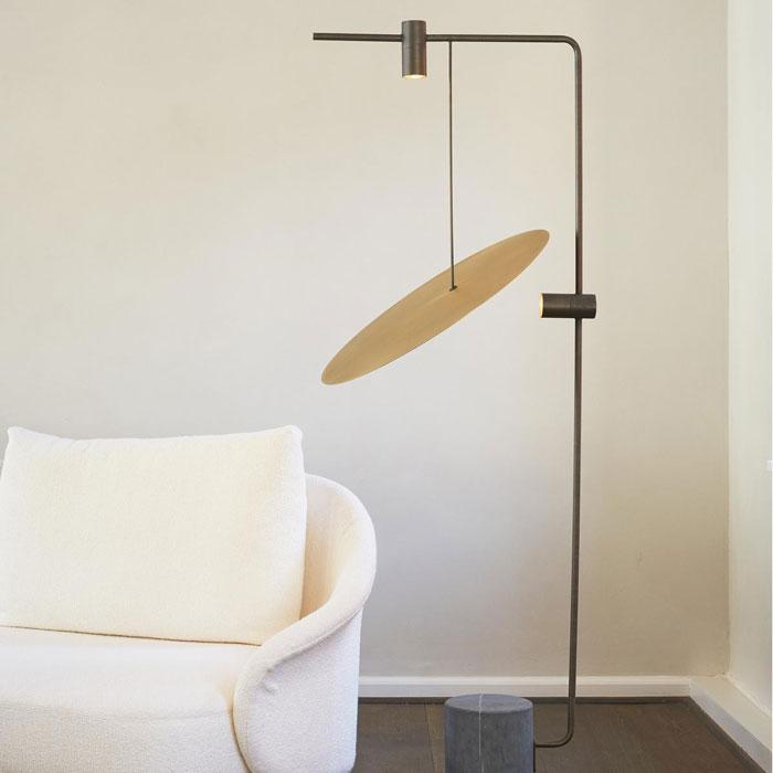 101 Copenhagen The Moon floor lamp