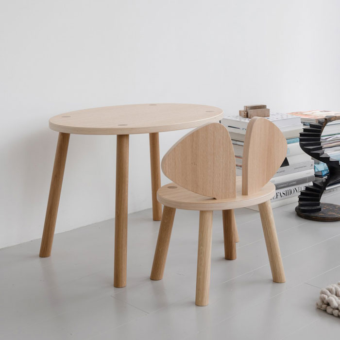 Nofred Mouse Chair and table