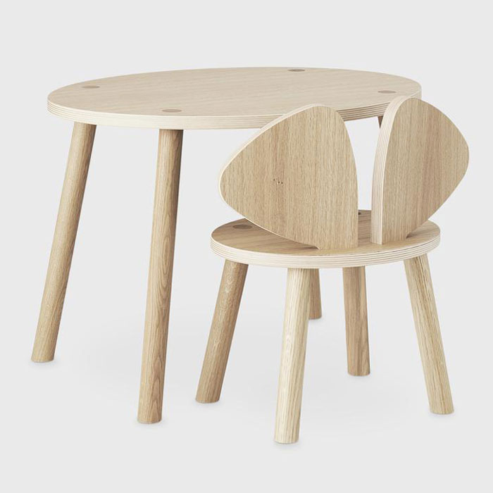 Nofred Mouse table chair set