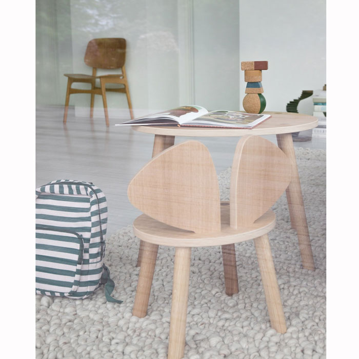 Nofred Mouse Chair table and chair