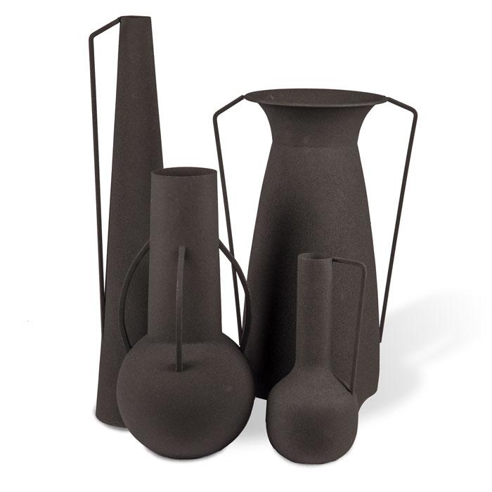 Pols Potten Vases Roman black