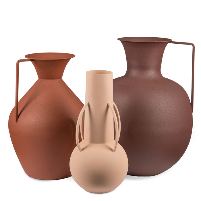 Pols Potten Vases Roman brown