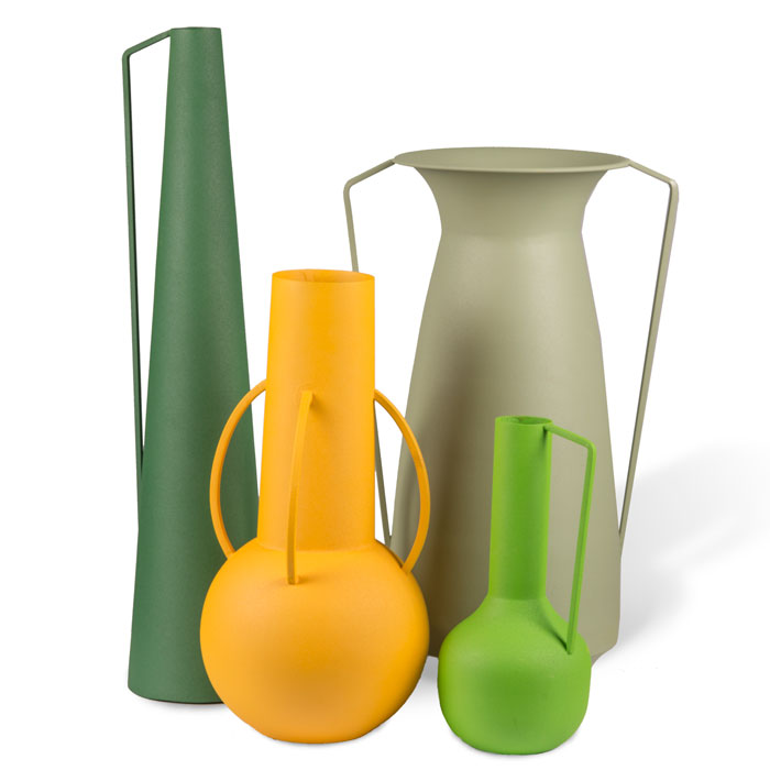 Pols Potten Vases Roman green