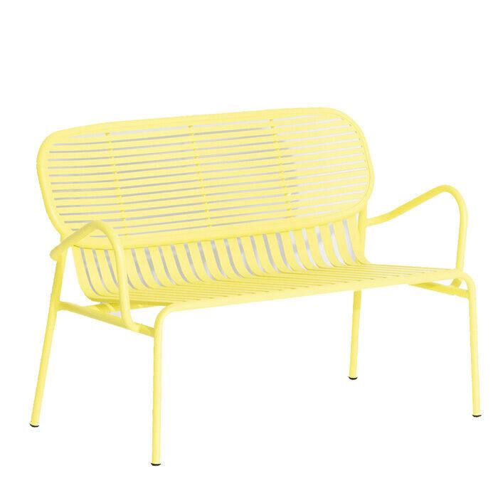Petite Friture Week-end Sofa 2 geel