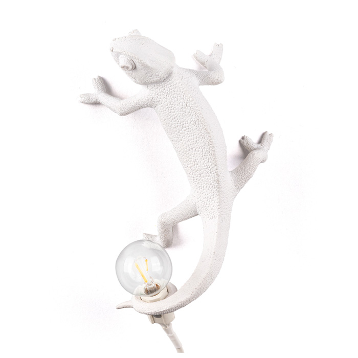 Seletti Chameleon Lamp going up