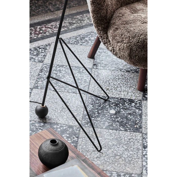 &tradition Tripod HM8 vloerlamp