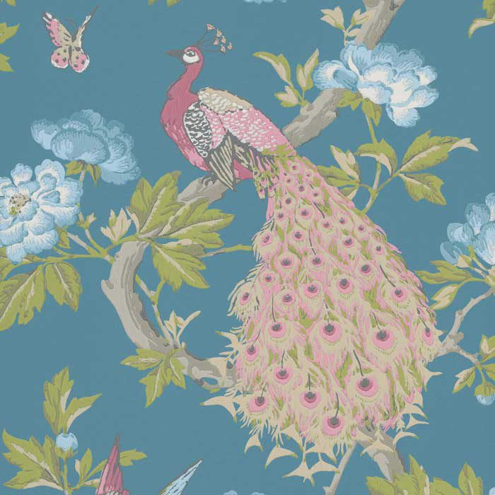 Little Greene Behang Pavona Sylvie