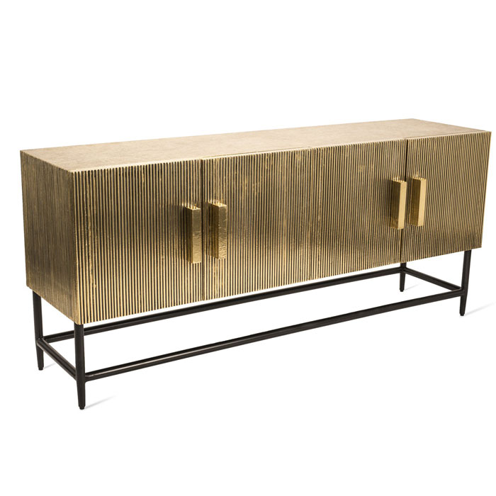 Pols Potten Cabinet ribbel gold low