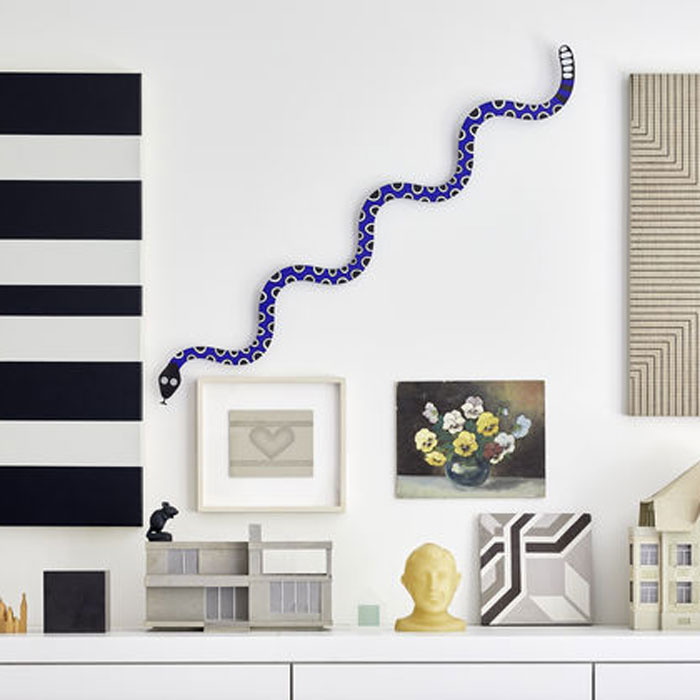 Vitra Metal Wall Relief Magic Snake