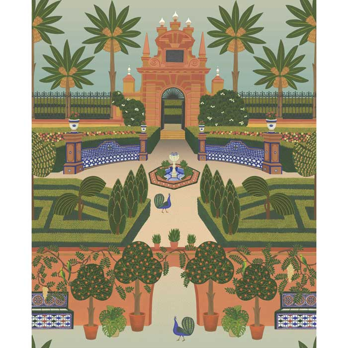 Cole and Son behang Alcazar Gardens 117/7020