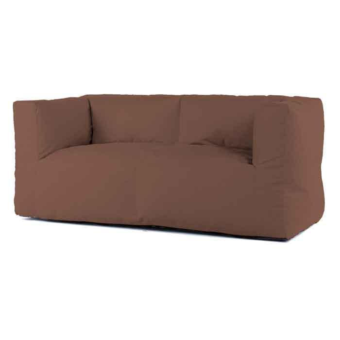 Bryck lounge bank 2zits Eco Brown