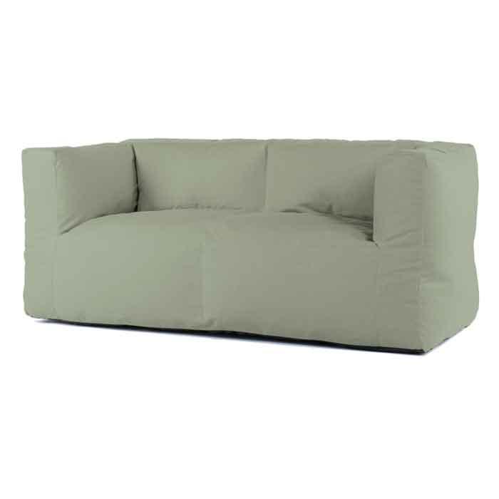 Bryck lounge bank 2zits Eco green