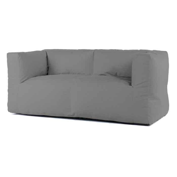 Bryck lounge bank 2zits Eco mediumgrey