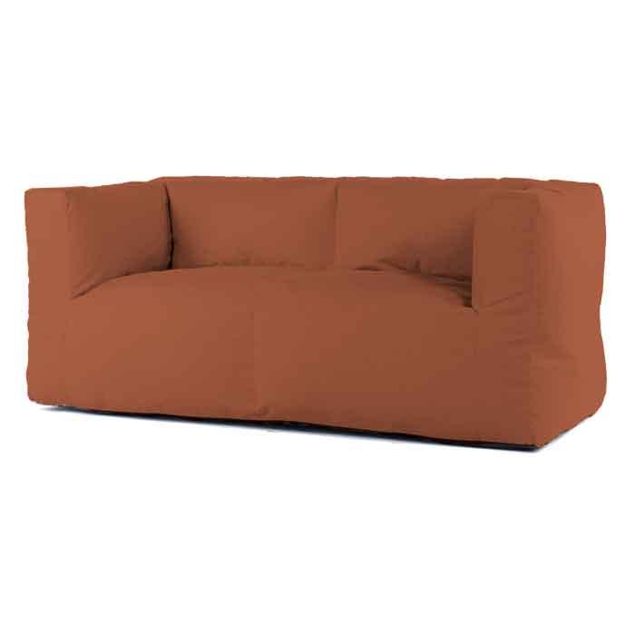 Bryck lounge bank 2zits Eco orange