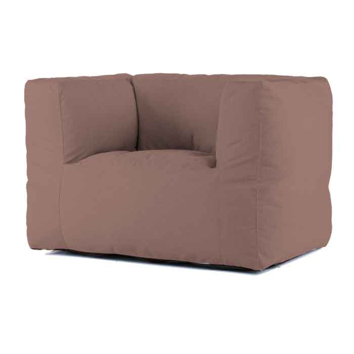 Bryck Lounge Chair Smooth light brown